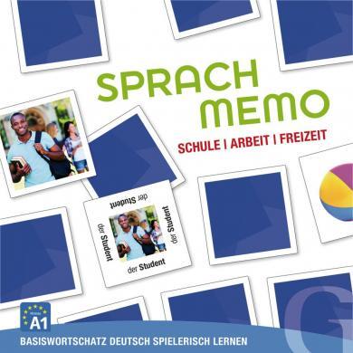 Grubbe Media: Sprachmemo Deutsch: Schule, Arbeit, Freizeit