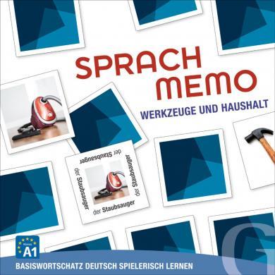 Grubbe Media: Sprachmemo Deutsch: Werkzeuge und Haushalt