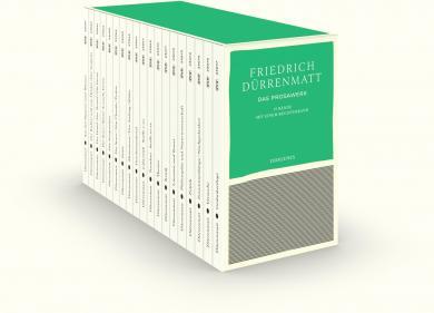 Friedrich Dürrenmatt: Das Prosawerk in 19 Bänden in Kassette