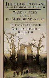 Theodor Fontane: Wanderungen durch die Mark Brandenburg, Band 8