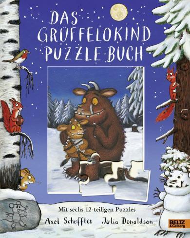 Scheffler, Axel, Julia Donaldson: Das Grüffelokind-Puzzle-Buch
