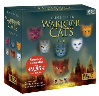 Erin Hunter: Warrior Cats 1-6