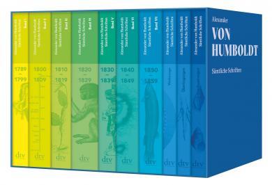 Alexander von Humboldt, Oliver Lubrich, Thomas Nehrlich: Sämtliche Schriften (Studienausgabe)