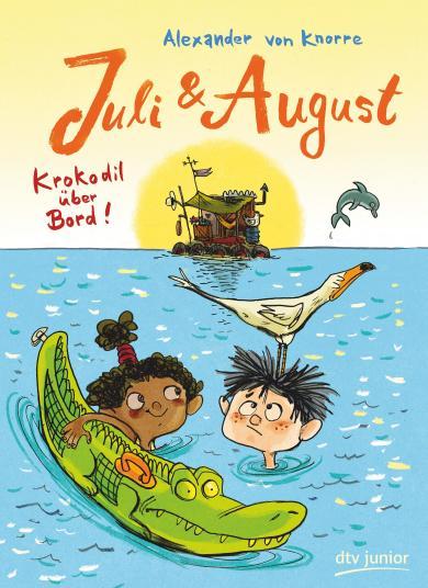Knorre, Alexander von: Juli und August – Krokodil über Bord