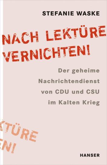 """Stefanie Waske: """"Nach Lektüre vernichten!"""""""