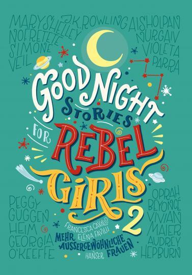 Francesca Cavallo, Elena Favilli: Good Night Stories for Rebel Girls 2