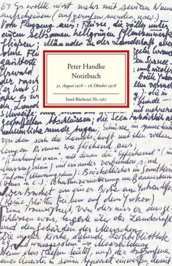 Peter Handke: Notizbuch