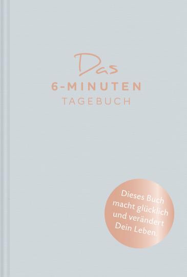 Dominik Spenst: Das 6-Minuten-Tagebuch (aquarellblau)