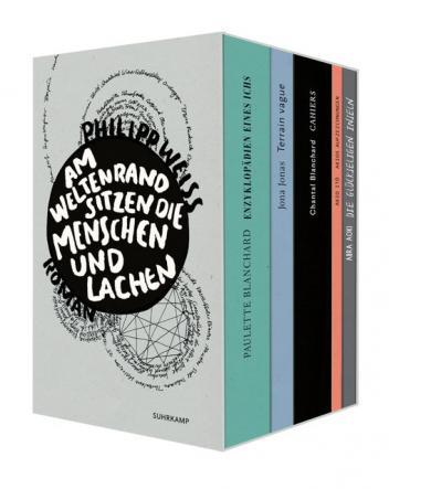 Philipp Weiss, Raffaela Schöbitz: Am Weltenrand sitzen die Menschen und lachen