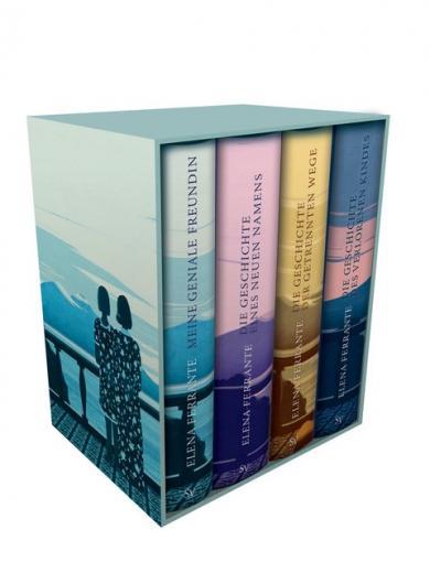 Elena Ferrante: Neapolitanische Saga (4 Bände)