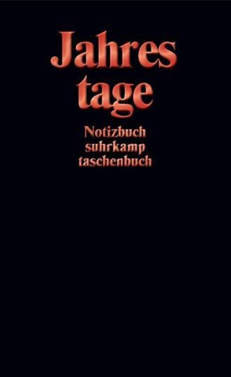 Suhrkamp Verlag: Notizbuch suhrkamp taschenbuch