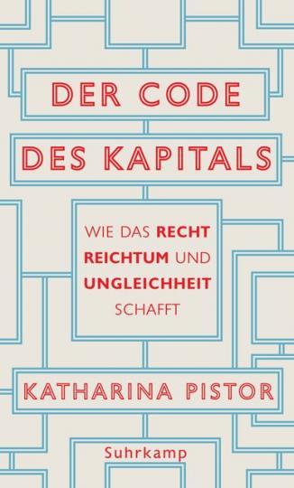 Katharina Pistor: Der Code des Kapitals