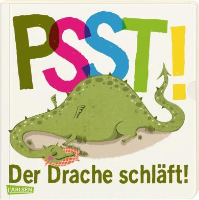 Wiebke Hasselmann, Große Holtforth, Isabel: Psst! Der Drache schläft! (Gutenachtgeschichte mit Ausziehseiten)