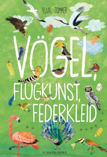 Yuval Zommer: Vögel, Flugkunst, Federkleid