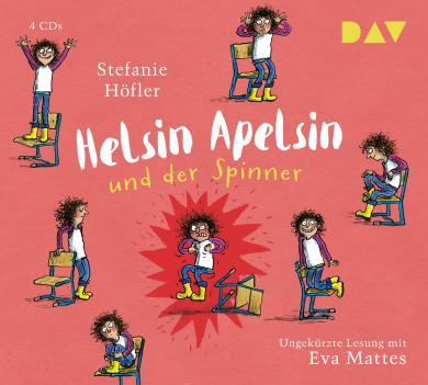 Stefanie Höfler, Anke Kuhl: Helsin Apelsin und der Spinner