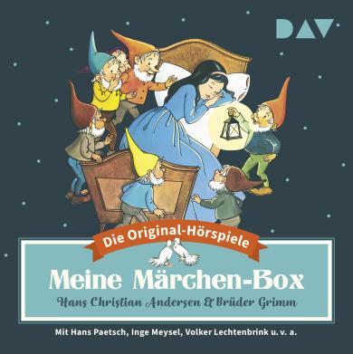 Hans Christian Andersen, Jacob Grimm, Wilhelm Grimm: Meine Märchen-Box – Die 34 schönsten Märchen-Hörspiele