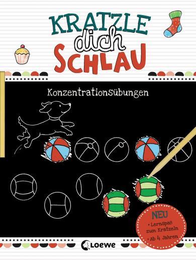 Beurenmeister, Corina: Kratzle dich schlau - Konzentrationsübungen