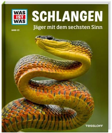 Nicolai Schirawski: WAS IST WAS Band 121 Schlangen. Jäger mit dem sechsten Sinn