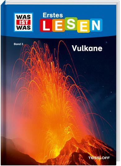 Christina Braun, Marie Gerstner: WAS IST WAS Erstes Lesen Band 3. Vulkane