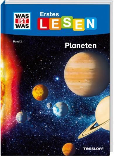 Christina Braun, Marie Gerstner: WAS IST WAS Erstes Lesen Band 2. Planeten