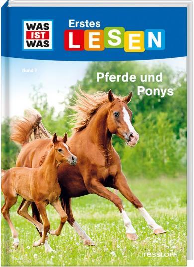 Christina Braun, Annelie Stenzel: WAS IST WAS Erstes Lesen Band 7. Pferde und Ponys