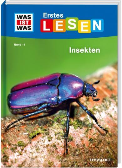 Christina Braun: WAS IST WAS Erstes Lesen Band 11 Insekten
