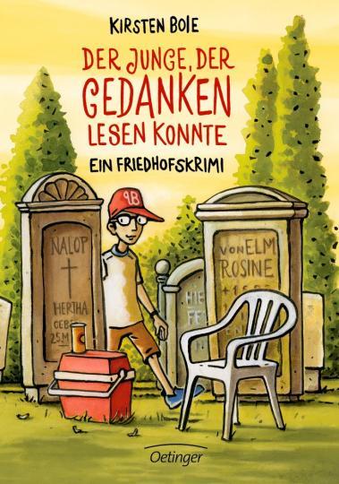 Kirsten Boie, Kehn, Regina: Der Junge, der Gedanken lesen konnte Ein Friedhofskrimi