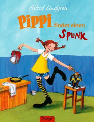Astrid Lindgren, Engelking, Katrin: Pippi findet einen Spunk