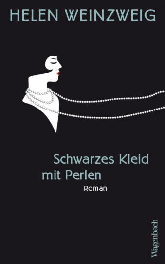 Helen Weinzweig: Schwarzes Kleid mit Perlen