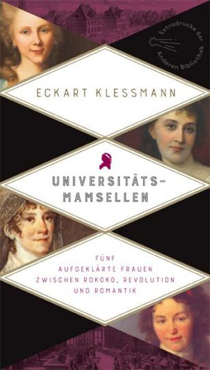 Eckart Kleßmann: Universitätsmamsellen