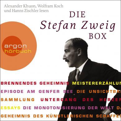 Stefan Zweig: Die Stefan Zweig Box (Brennendes Geheimnis / Meistererzählungen / Essays)