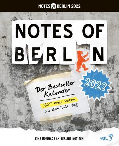 Notes of Berlin 2022