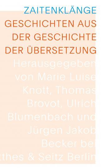 Meyer, Nanne: Zaitenklänge