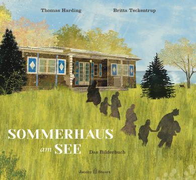 Thomas Harding, Britta Teckentrup: Sommerhaus am See